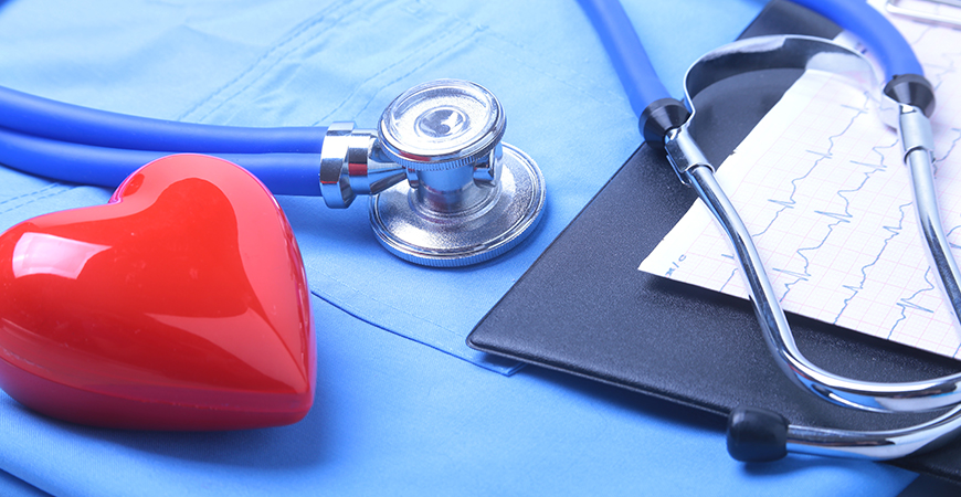 Medical stethoscope patient medical history list doctor uniform